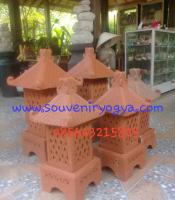 Lampu Taman Tanah Liat Souveniryogya Com